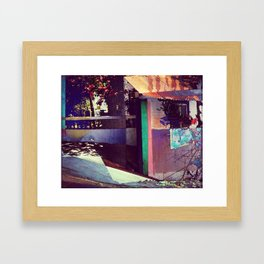 Goa House Framed Art Print