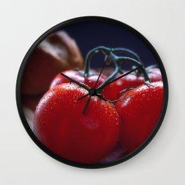 Italy Calls Kitchen Art Wall Clock