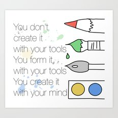 Create It Art Print