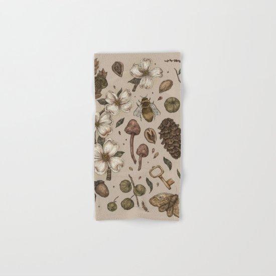 Nature Walks (Light Background) Hand & Bath Towel