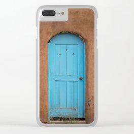 Colors of Santa Fe, II Clear iPhone Case