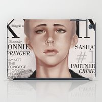 snk iPad Cases featuring SnK Magazine: Connie by putemphasis