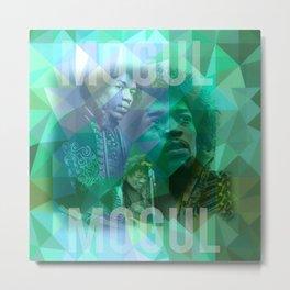 Hendrix Live Metal Print