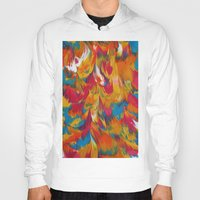 psychedelic Hoodies featuring Psychedelic by DuckyB