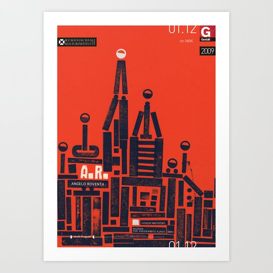 Angelo Roventa Poster Art Print