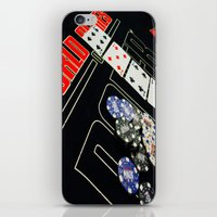 poker iPhone & iPod Skins featuring poker by yahtz designs