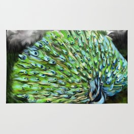 Peacock Alive! Rug