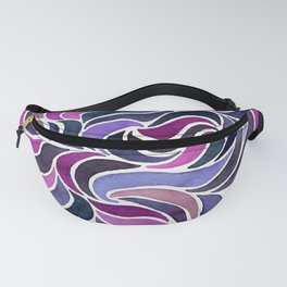 Magenta Currents Fanny Pack