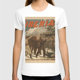 Vintage poster - The New Siberia T-shirt