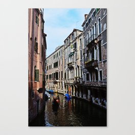 Venice the city of Canals Canvas Print