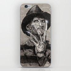 freddy krueger iPhone & iPod Skin