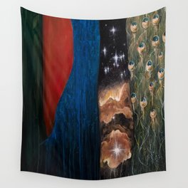 Seat of Creation Wall Tapestry