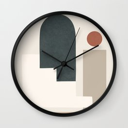 Minimal Shapes No.28 Wall Clock