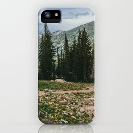 Wasatch Mountains, Utah iPhone Case
