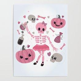 Love Potion Skeleton Dance Poster