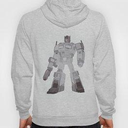 Optimus Black and White Hoody