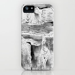 Abstract Artwork Greyscale #2 iPhone Case