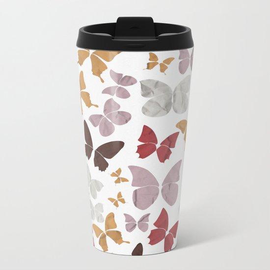 Panapaná II - Butterflies Metal Travel Mug