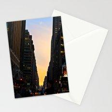 Urban Sunset Stationery Cards