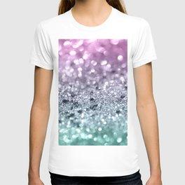 Mermaid Girls Glitter #7 #shiny #decor #art #society6 T-shirt