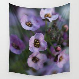 Lavender Alyssum Wall Tapestry