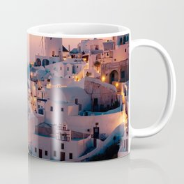 Sunset over the Village (Color) Coffee Mug