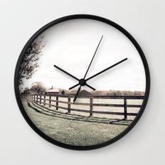 Pastureland  Wall Clock