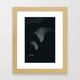 Lactose Intolerant Arches Framed Art Print
