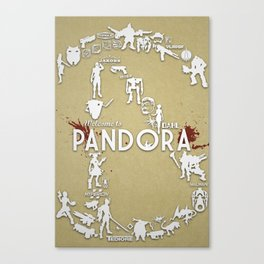 Welcome to Pandora Canvas Print