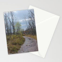path into the wilderness Stationery Cards