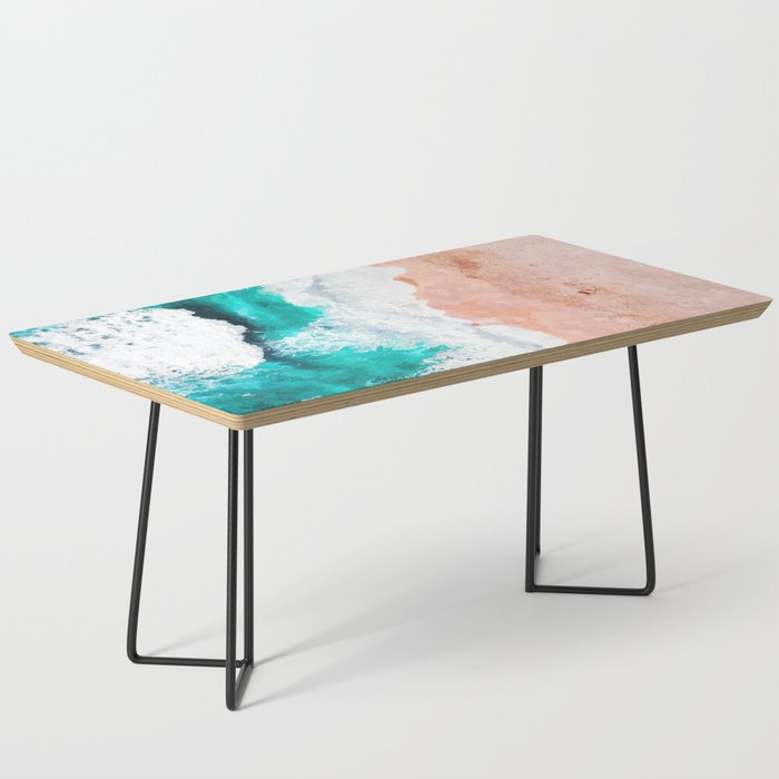 Beach Illustration Coffee Table