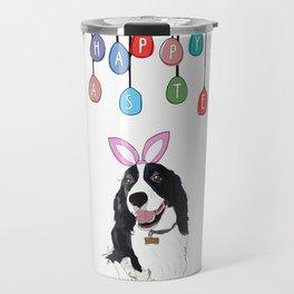 Happy Easter - Springer Spaniel Travel Mug