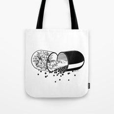 Sleep Forever Tote Bag