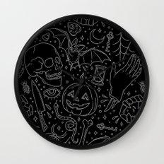 Halloween Horrors Wall Clock