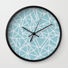 Ab Outline Salt Water Wall Clock