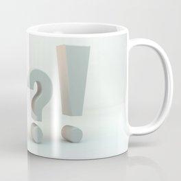 ???! Questions and Answer Coffee Mug