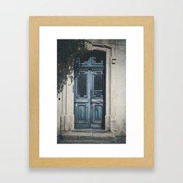 Italian Door II Framed Art Print