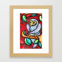 Ninja Bluebird Framed Art Print
