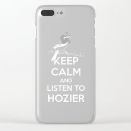 listen to the bog man Clear iPhone Case