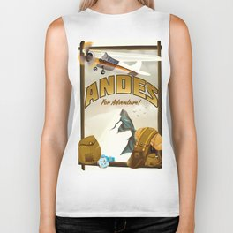 "Andes ""For Adventure!"", Biker Tank"