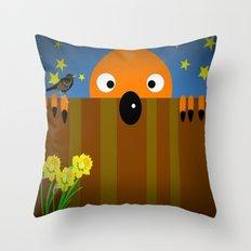 Oskar Throw Pillow