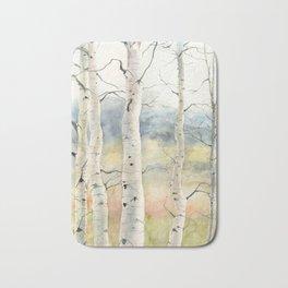 Tender Birch Forest Bath Mat