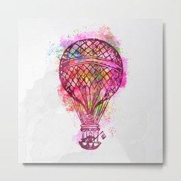 Hot air baloon AP104 Metal Print