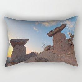 Balancing Rocks Rectangular Pillow
