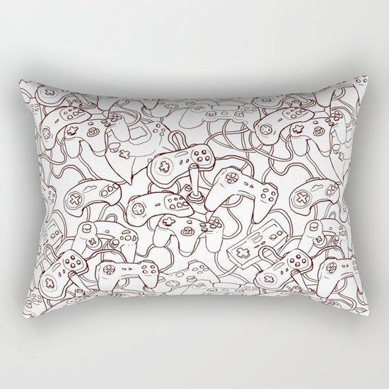 Joysticks Rectangular Pillow