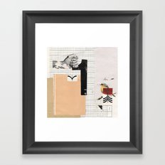 1 - Arrow Bird Framed Art Print