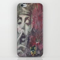 cigarettes iPhone & iPod Skins featuring 1001 cigarettes by C.BENNETT