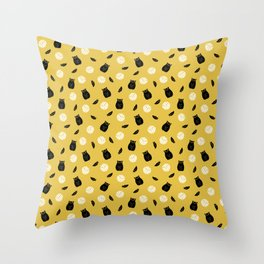 Volley Owls! Throw Pillow