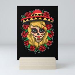 La Calavera Catrina Linda - Lady of the Dead Mini Art Print
