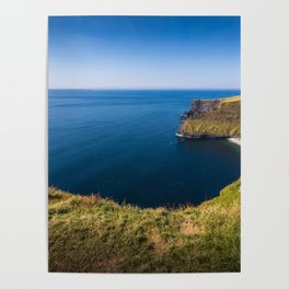 Cliffs of Moher, Ireland Poster